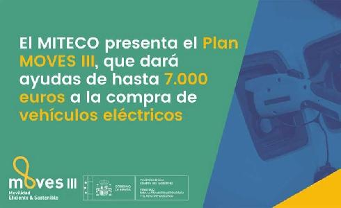 El Miteco dará ayudas de hasta 7.000 euros a la compra de vehículos eléctricos