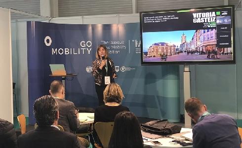 El modelo de movilidad de Vitoria-Gasteiz, presente en el congreso Go Mobility