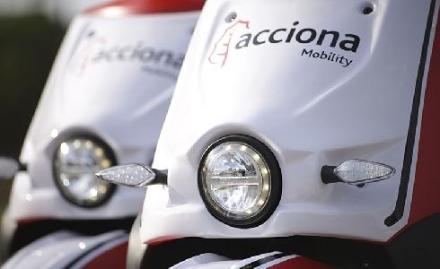 El Motosharing de ACCIONA ahorra 500 tonelades de CO2 en Madrid y participa en Mercado de Motores