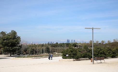El parque de la Cuña Verde de O´Donnell reabre tras una renovación completa
