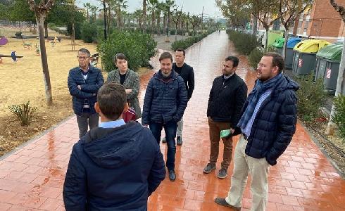 El Parque de La Paz de El Palmar, un nuevo pulmón verde en Murcia