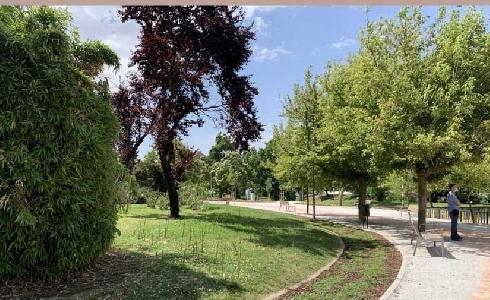 El parque Dionisio Ridruejo de Madrid, ejemplo de gestión eficiente del agua