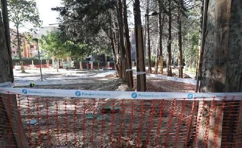 El parque Isabel Clara Eugenia será más accesible y tendrá mejores instalaciones para los vecinos
