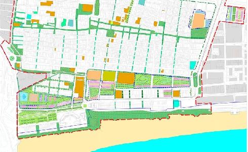 El PEC de Cabanyal-Canyamelar incluirá tres grandes ejes verdes