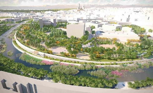 El proyecto sobre el Calderón culminará el parque urbano Madrid Río