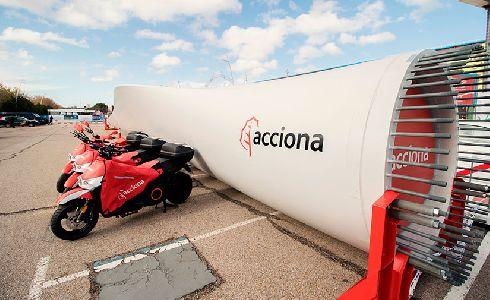 El servicio de motosharing sostenible de ACCIONA se refuerza con motivo de la COP25