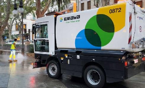 EMAYA cuenta con una nueva limpiadora con agua a presión de gran capacidad y mayor rendimiento