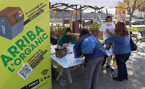 EMAYA implantará 470 contenedores de materia orgánica en 32 nuevos barrios antes de noviembre
