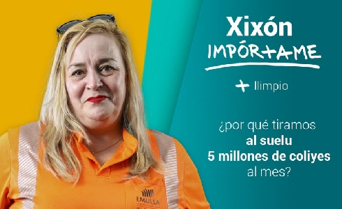 EMULSA lanza la campaña online de concienciación ciudadana #GIJONMEIMPORTA