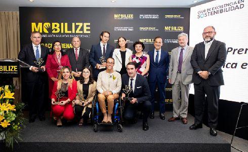 Entregados los VII Premios a la Mejor Práctica en Movilidad Sostenible
