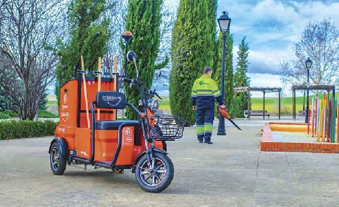 Fabrez aporta soluciones de movilidad sostenible en los servicios urbanos