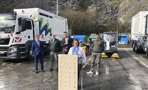 FCC Medio Ambiente y Servicios de Txingudi presentan el contrato de recogida de residuos y limpieza urbana