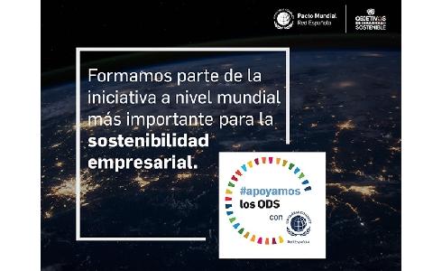 FCC se une a la campaña #apoyamoslosODS promovida por el Pacto Mundial de Naciones Unidas España