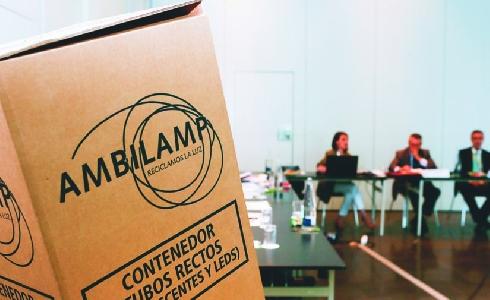 FECE y AMBILAMP se alían para mejorar la gestión de residuos de iluminación
