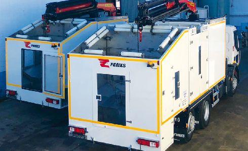 FENIKS suministra dos equipos lavacontenedores de carga superior para la prestación de servicios a EPREMASA