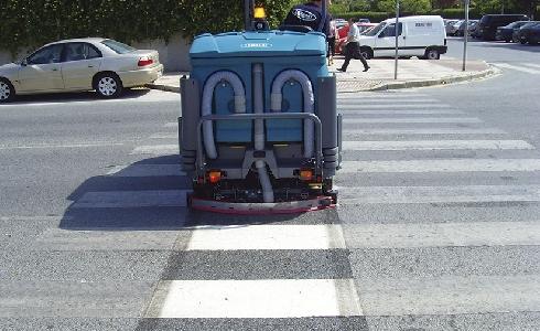 Fregadoras para la limpieza viaria: máximos niveles de limpieza sin malgastar agua