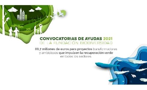 Fundación Biodiversidad destina 58 millones de euros a proyectos de impacto para renaturalizar las ciudades