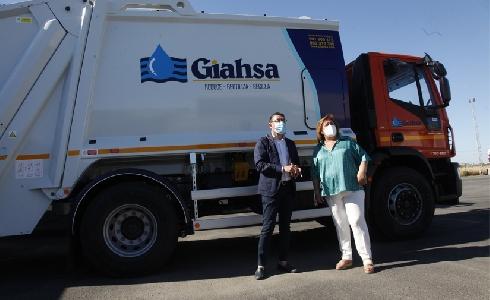 Giahsa incorpora 12 nuevos vehículos para reforzar la recogida de residuos de la provincia de Huelva