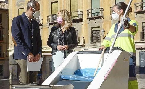 Granada incorpora nuevos vehículos eléctricos al servicio de limpieza