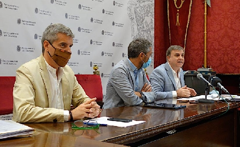 Granada presenta una segunda batería de proyectos de mejora urbana por valor de 7,8 millones de euros