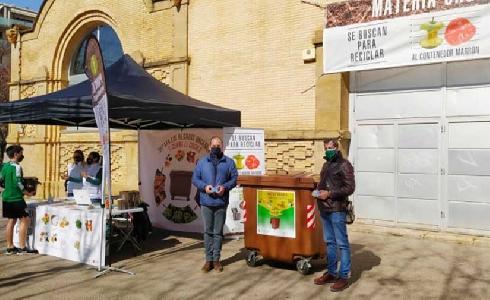 Huesca recogen más de un millón de kilos de materia orgánica
