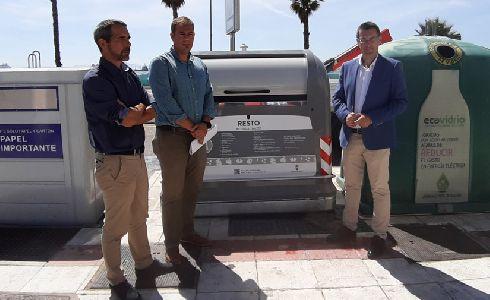 Iniciada en La Línea de la Concepción la implantación del nuevo sistema de recogida de residuos sólidos