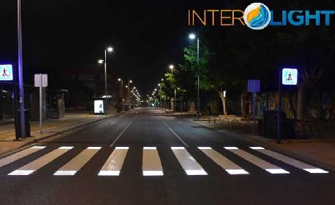 Instalados cinco pasos de peatones inteligentes en Paracuellos del Jarama