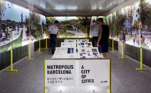El AMB expone en la Biennal de Arquitectura y Paisajismo de Seül los proyectos metropolitanos junto con 80 ciudades