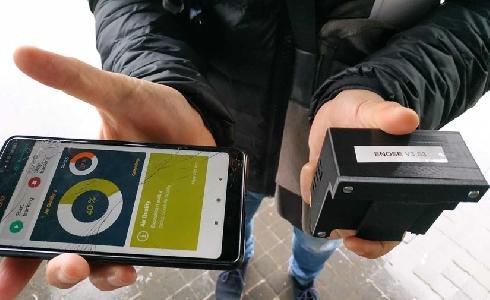 El AMB, pionera en medir la calidad del aire con nanosensores móviles