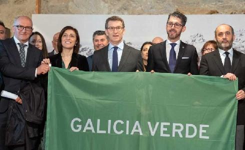 La Bandera Verde de la Xunta reconocerá el esfuerzo de los ayuntamientos comprometidos con el paisaje y el medio ambiente