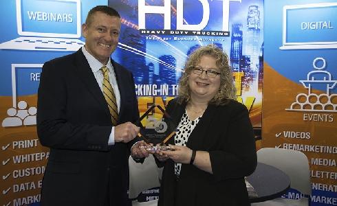 La caja de cambios Allison Serie 3414 Regional Haul, reconocida con uno de los premios más importantes del sector