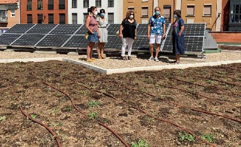 """La Comisión Europea valida el proyecto del jardín sostenible instalado en """"El Campillo"""" de Valladolid"""