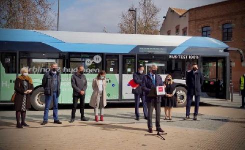 La Comunidad de Madrid prueba por primera vez un autobús de hidrógeno en trayectos interurbanos