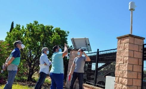 Diputación de Badajoz y Uex trabajan en la predicción a tiempo real de escenarios de contaminación lumínica