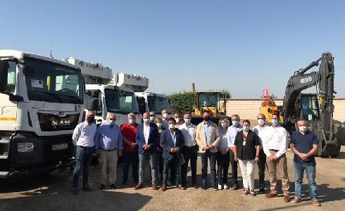 La Diputación de Jaén incorpora nuevos equipos para la recogida y gestión de residuos