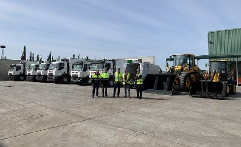 La Diputación de Jaén refuerza la flota de vehículos del servicio de recogida de residuos urbanos