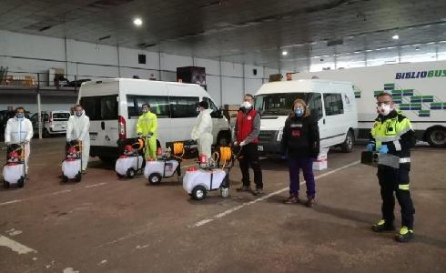 La Diputación de Soria pone en marcha nuevos equipos de desinfección más eficientes y rápidos