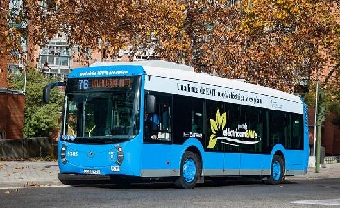 La EMT incorporará 50 nuevos autobuses eléctricos