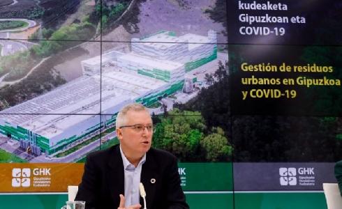 La generación de residuos en Gipuzkoa aumenta un 6,7% durante el confinamiento por la COVID-19