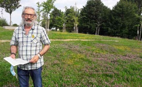 La naturalización de las zonas verdes de Logroño reduce el gasto de agua y mejora la vegetación