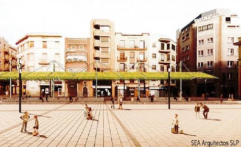 La plaza Corsini de Tarragona ya tiene proyecto ganador para su humanización