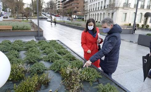 La Plaza de Italia y los Jardines de San Roque de Santander renuevan su imagen