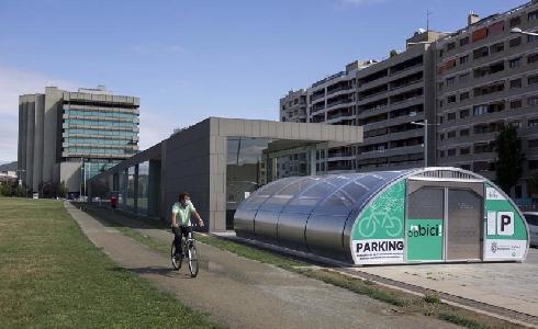 La red navarra de aparcamientos para bicicletas reconocida con el Premio de la Semana Española de la Movilidad