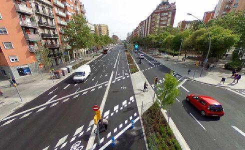 La remodelación de la Meridiana de Barcelona extenderá hasta Navas