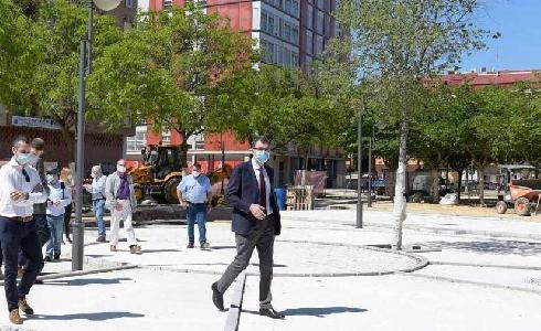 La Ronda Sur de Murcia contará con un nuevo eje peatonal de 12.000 m2