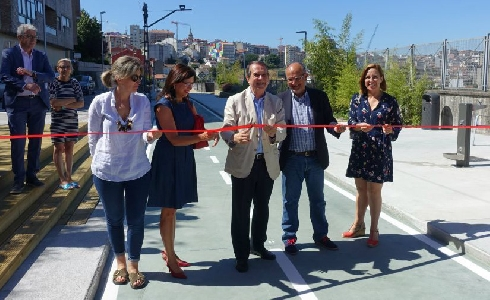 La Vía Verde de Vigo será una realidad con la finalización de la segunda fase a finales de año