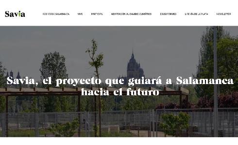 La web Savia Salamanca se consolida como un espacio de referencia de información sobre sostenibilidad