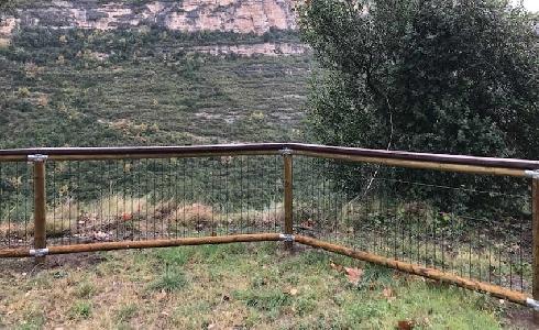 Las mejores vallas de madera para proteger zonas urbanas y rurales