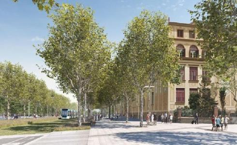 Las obras de urbanización de Barcelona para ampliar el tranvía de las Glòries a Verdaguer empezarán en otoño