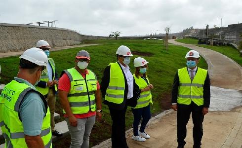 Las Palmas de Gran Canaria avanza en la construcción del nuevo parque urbano en Tamaraceite Sur